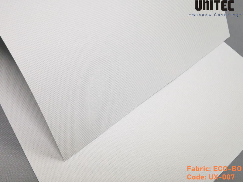 New blackout roller blind with double-sided coating UX-007