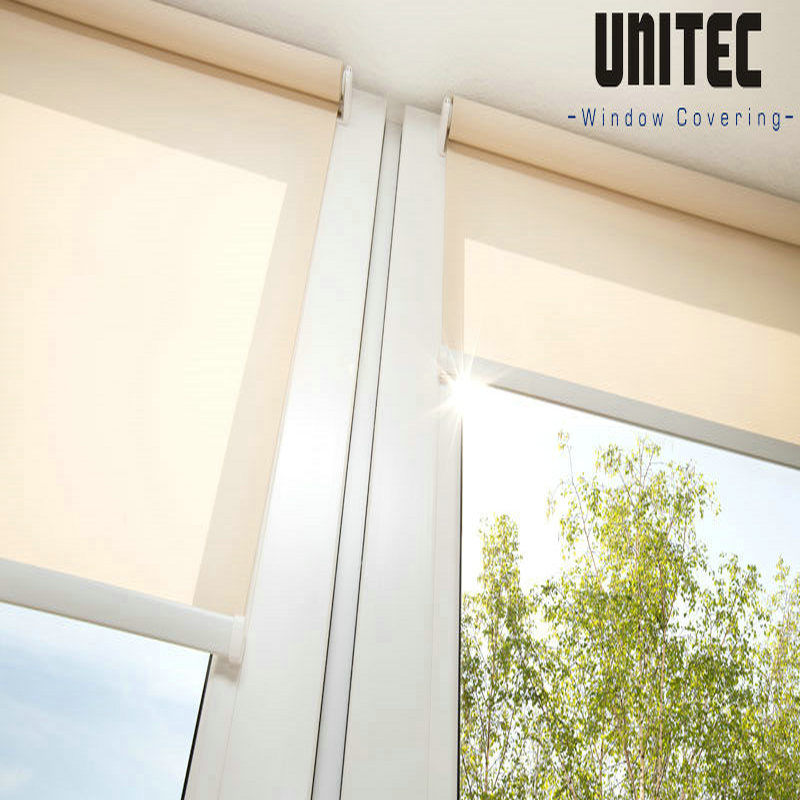 unscreen roller blind URS601 with PVC material