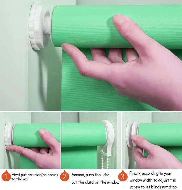 free punch roller blinds mechanism accessories